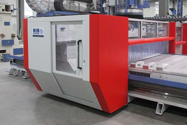 CNC-Maschine in Portalausführung